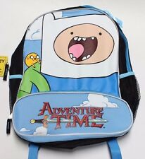 "Adventure Time 16"" Backpack - Jake / Fin - NWT New with Tags book bag cartoon"