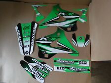 FLU DESIGNS  PTS3 KAWASAKI TEAM  GRAPHICS KX125 KX250  1994 1995 1996 1997 1998