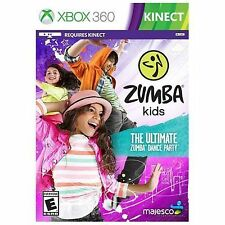 Zumba Kids RE-SEALED Microsoft Xbox 360 GAME THE ULTIMATE DANCE PARTY
