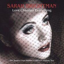 sealed  CD Sarah Brightman Love Changes Everything Andrew Lloyd Webber Coll. v 2