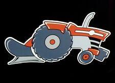 "Right facing ""MASSEY FERGUSON"" MF Original Artwork DECAL/STICKER ""Tractor Swag"""