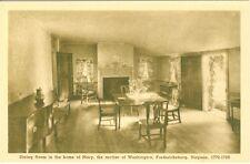 Fredericksburg, VA Dining Room, Mary Washington Home