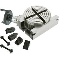 """4"""" Mini Rotary Table With Clamping Kit Brand new for Milling Machines"""