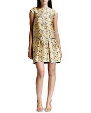 Stella McCartney Python-print Flounce muslo Longitud Vestido. PVP original £ 1,260