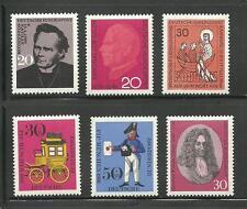 Bund 1966 MiNr. 504-505 515-518, postfrisch