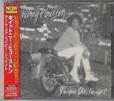 Whitney Houston I'm Your Baby Tonight +2 Japan CD w/obi new jack swing BVCM37776