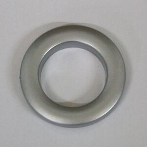 Curtain Eyelet Rings - Matt Nickel Colour