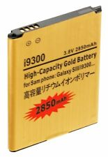 2850mAh High Capacity Gold Extended Battery Replacement for Samsung Galaxy S3