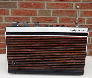 Transistorradio Kofferradio Philips Rallye de Luxe Rarität