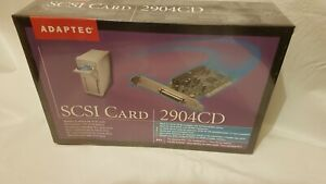ADAPTEC 2904CD PCI SCSI CARD