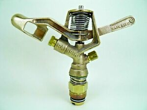 5 NEW RAIN BIRD #30H DBL NOZZLE BRASS IMPACT SPRINKLERS JUST $25EA FREE NOZZLES
