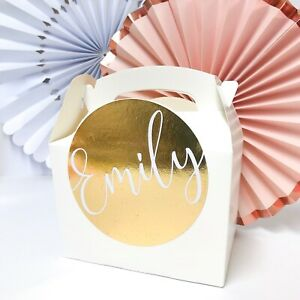 PERSONALISED CHILDRENS ACTIVITY BOX |METALLIC FOIL | PARTY GIFT BAG FAVOUR BOXES