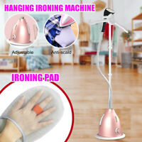 2 L Hanging Travel Iron Steamer Garment Steam Hand Held 2000W + Ironing Mat