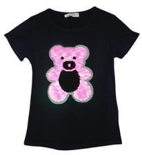 T-shirts, hauts et chemises bleus avec col rond pour fille de 3 à 4 ans