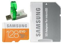 Samsung EVO 128GB microSDXC 48MB/s C10 U1 128G microSD micro SD MB-MP128DA +V38