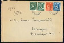 Mayfairstamps Finland Commercial 1951 Cover To Helsingfors wwk42781