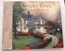 Thomas Kinkade - Simpler Times - Hard Cover Book - New (Other)!