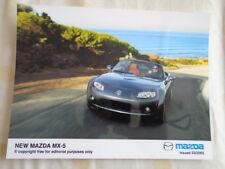 Mazda MX5 press photo brochure Mar 2005