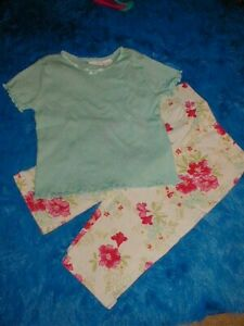 EUC  Vintage GYMBOREE 2 pc  Summer PANT SET 5 years