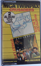 The Crusaders... Rhapsody & Blues - Street Life  2 Albums Special Value Cassette
