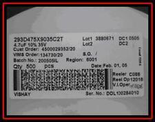 Smd tantale Condensateurs 4,7µf 35v 10% case C 293d475x9035c2t 500 pièces