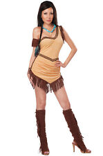 Native American Beauty Sexy Indian Pocahontas Adult Costume