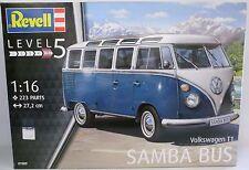 **NEU** REVELL 07009 Samba Bus - Volkswagen T1 1:16 **OVP**