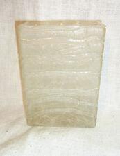 Mid Century 60´s German ICE Glass Vase #BG