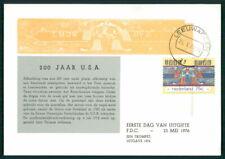NETHERLANDS MK 1976 USA INDEPENDANCE JEFFERSON CARTE MAXIMUM CARD MC CM eg78