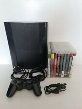 Sony PlayStation 3 PS3 Super Slim 500GB Black Console Bundle CECH-4003C