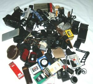 A JOBLOT OF CAMERA / PHOTO BITS AND ACCESSORIES 12.4kg