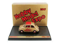 Model Car Vehicles Ads Commercial Brumm Fiat 500 D Scale 1:43 Expo