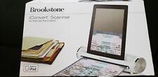 Brookstone iConvert Scanner Dock iPad iPad2 Tablets