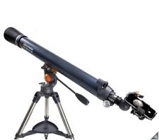 Celestron Astromaster 90AZ Refractor Telescope with 3 Axis Smartphone Adapter
