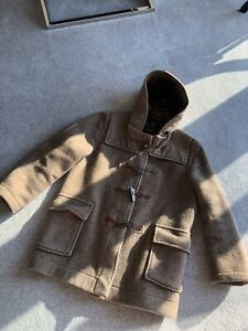 Gloverall Brown Duffle Coat Size UK 10