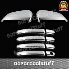 For Ford Freestyle 05-07 4Drs Handle W/O Psgkh+Mirror 2Pc Chrome Covers