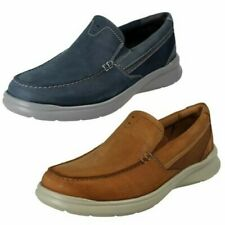 Mens Clarks Slip On Lightweight Shoes 'Cotrell Easy'