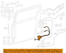 TOYOTA OEM 2016 Sienna Side Sliding Door-Lock Assembly Left 6938008031