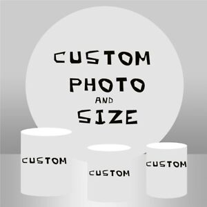 Custom Plinth Covers Cylinder Cover for Round Backdrop