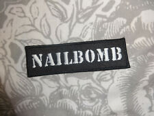Nailbomb Patch Gestickt Jacke Kutte Thrash Metal Sepultura