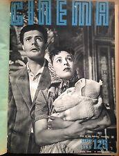 CINEMA NUOVA SERIE QUINDICINALE  ED. VITAGLIANO ANNO 1954 N. 125/134