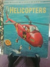 HELICOPTERS Little Golden Book #205; 4 Colour Back 1960 VGC