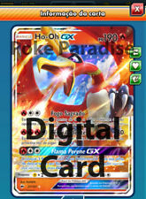 Ho-Oh GX #21 Burning Shadows Pokemon TCG Online! PTCGO Digital Card!