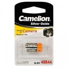 1 Pile oxyde d'argent CAMELION 4SR44 (4AG13 KS28 PX28 V28PX)