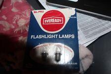 2 Eveready Pr3 Replacement Lamp Flashlight Bulbs 3 Size D batteries