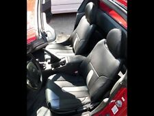 HONDA DEL SOL 1993-1997 IGGEE S.LEATHER CUSTOM FIT SEAT COVER 13COLORS AVAILABLE