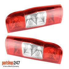 PAIR FORD TRANSIT REAR BACK LIGHT LAMP LENS LEFT & RIGHT SIDE MK7 2006 - 2014