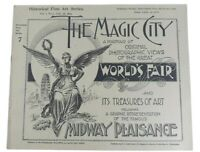 Antique 1894 Chicago Worlds Fair Magic City Fine Art Series Vol 1 #7
