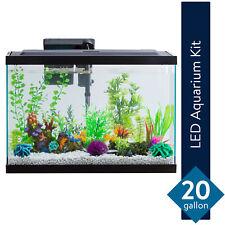 New listing Aqua Culture 20-Gallon Aquarium Starter Kit With Led lights