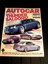 AUTOCAR MAGAZINE 13-APR-04 - BMW M5 E60, Jaguar X-Type estate, Rover 75 Touring